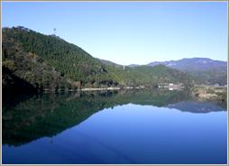 所有山林と清流北川(大峡山林)